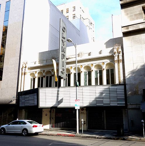 Olympic Theatre retail space in Downtown LA
