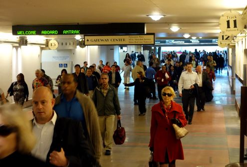The busiest rail station west of the Mississippi, Union Station in Downtown LA, is getting some exciting upgrades by the end of spring 2014 including new wayfinding and interactive electronic signs