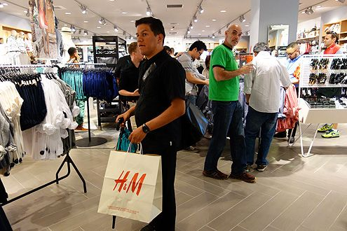 Shoppers rejoiced in H&M arriving in Downtown LA