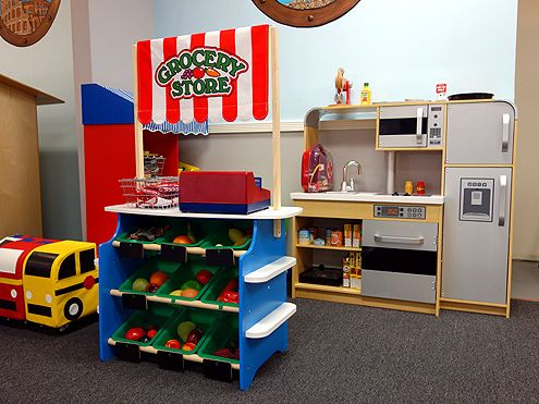 Interactive toys and props for kids to play with