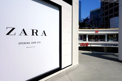 0f7daf612504a Downtown LA Flagship Zara Store Front Unveiled  Opening June 4 ...