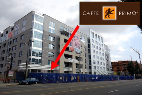The new Avant mixed-use rental development in South Park is also getting a massive new Caffe Primo restaurant space on the ground floor