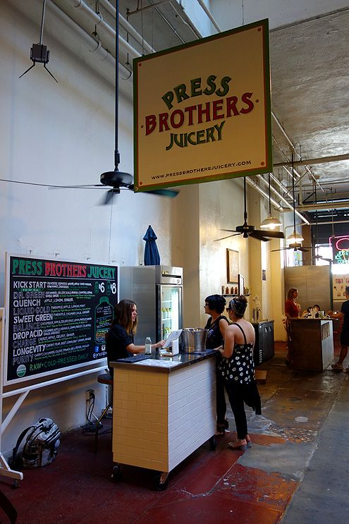 Started by two brothers (David and JD), Press Brothers Juicery serves up, what else, but fresh pressed juices made from organic fruits and vegetables