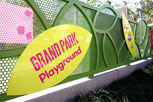 The new Grand Park Playground is now open in Downtown LA
