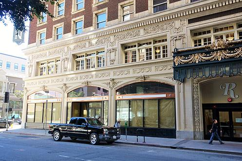 The local grocery store will be going into the corner retail space at the Rosslyn