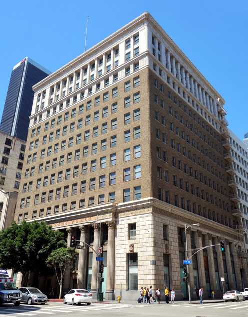 The historic 1923 Giannini Building on 7th Street, once the LA headquarters for Bank of Italy, which ultimately became Bank of America, will be converted to a posh boutique hotel