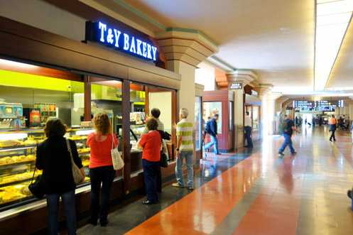New food concessions like T&Y Bakery from Farmers Market give transit users an improved experience