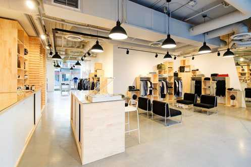 Wittmore is now open at One Santa Fe in Downtown LA's up and coming Arts District selling unique men's clothing and accessories (Photo: Wittmore)