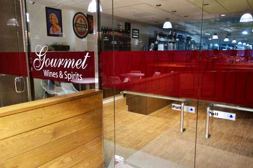 Gourmet Wine & Spirits relocated from 626 Wilshire in the Financial District