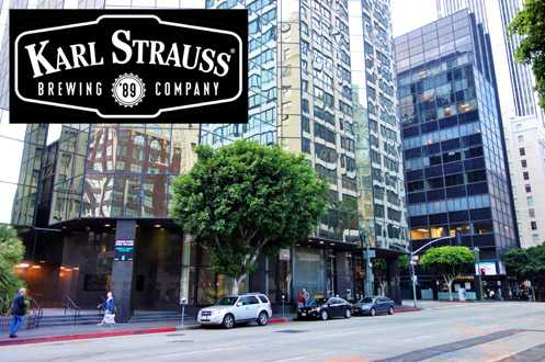 San Diego brewery Karl Strauss, which opened in 1989, will be opening a new 9,000 square foot location in Downtown LA's Financial District
