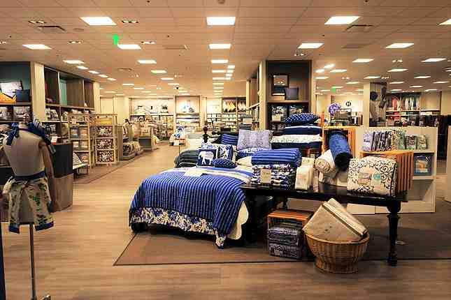 The brand new home store on the P1 level offers housewares, textiles, and luggage sets