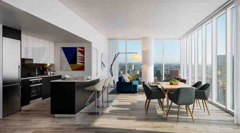 TEN50 will bring luxury condos to Downtown LA's exciting South Park district (Photo: TEN50)