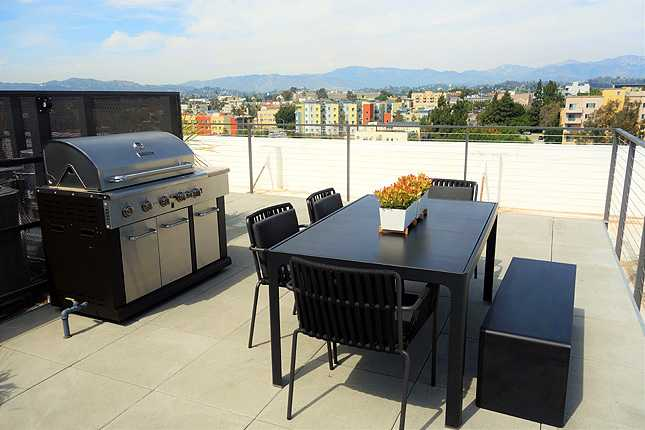 BBQ grill offers opportunities for outdoor gatherings