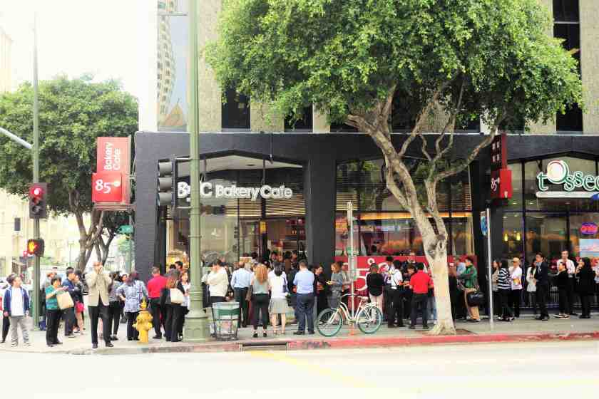 Hundreds of downtowners waited in line during the soft opening on Thursday, June 9