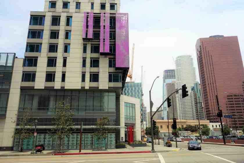 Originally geared for a restaurant, the retail space at the Courtyard Marriott will now become the new flagship store for Brigade LA