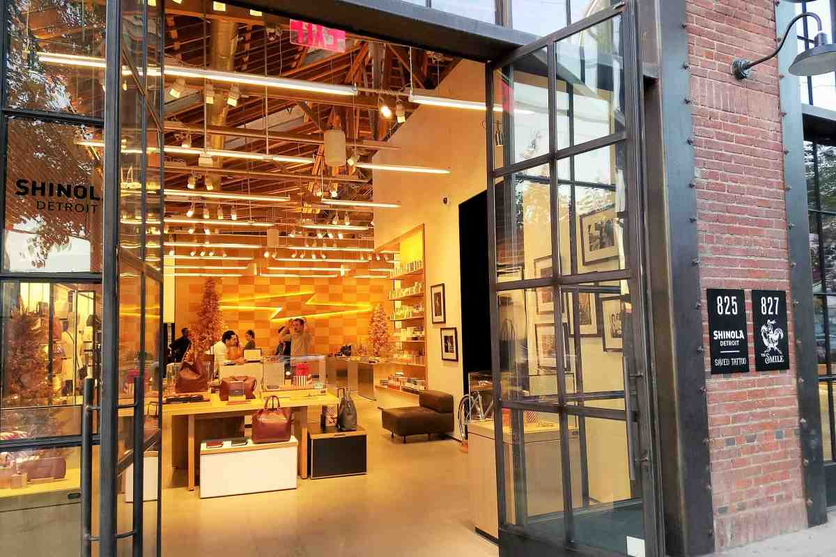 Shinola Detroit, known for their watches, bikes, and leather goods, has just opened their largest West Coast flagship store here in Downtown LA's Arts District