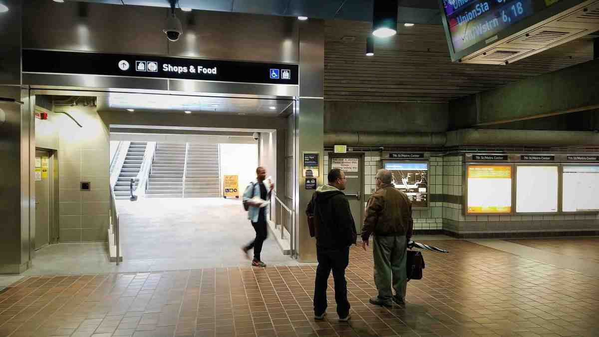 New Metro Pedestrian Tunnel Opens in Downtown LA's Busiest Subway Station