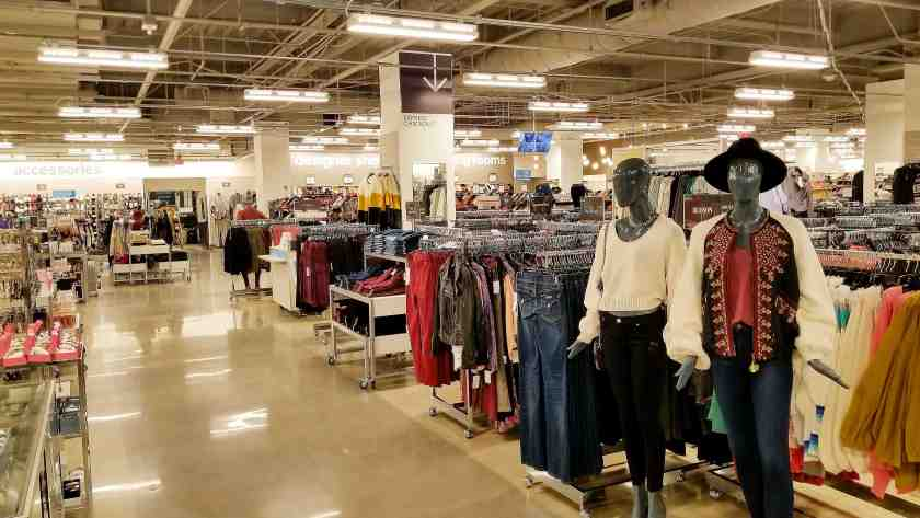cf5cd3bc17d2 The new 27,000 square foot Nordstrom Rack in Downtown LA is industrial chic
