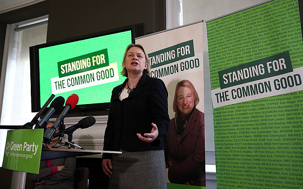 Candidates are competing to replace Natalie Bennett (Photo: Carl Court)