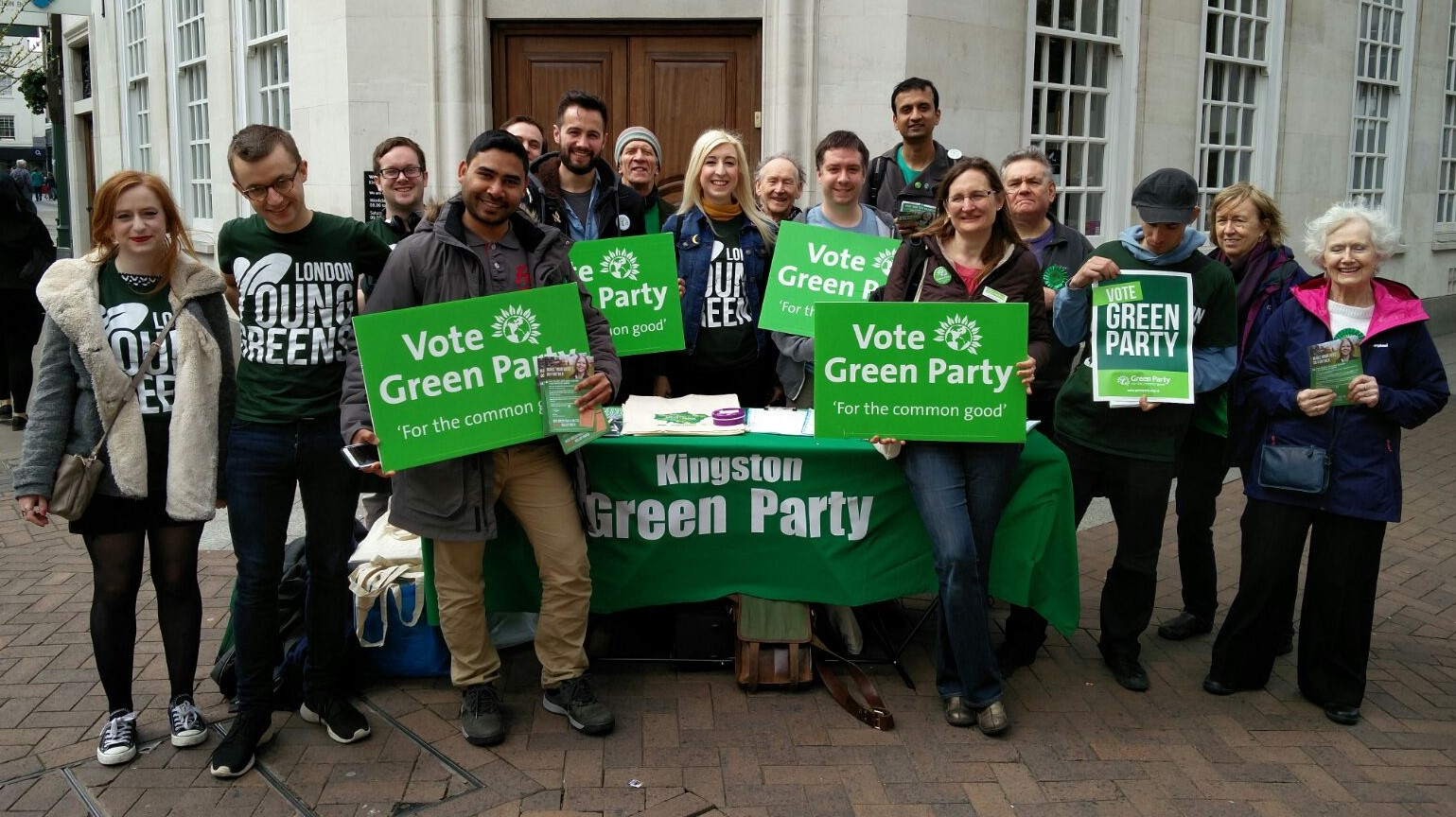 Kingston Green Party is one of the two local parties involved