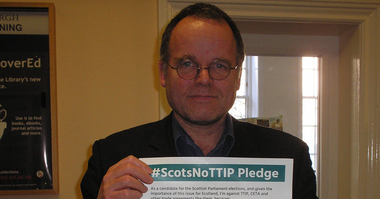 Green Party MSP Andy Wightman