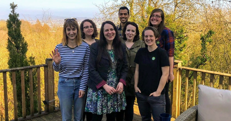 Green Party action day in Newport West by-election