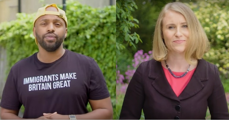 Green Party MEPs Magid Magid and Alex Phillips