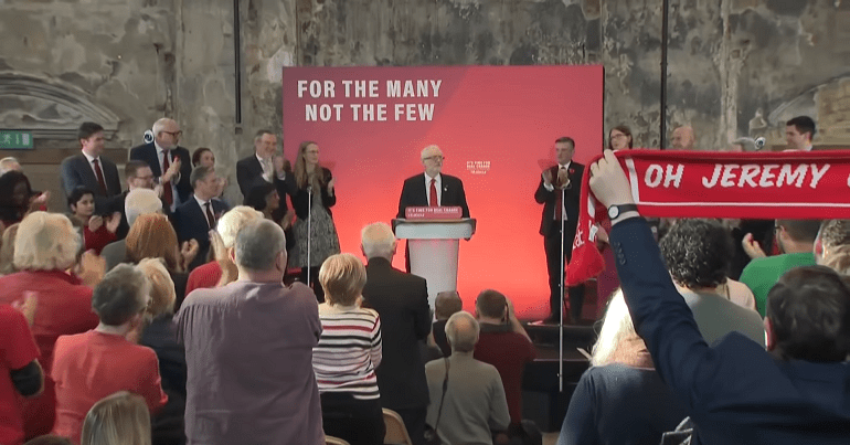 Labour Party General Election campaign launch