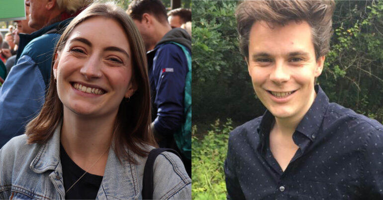 GPEx elections candidates Florence Pollock and Mat Browne