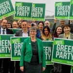 Greens ahead of Lib Dems in new Westminster poll