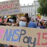 Green Party backs demand for 15% NHS staff pay rise