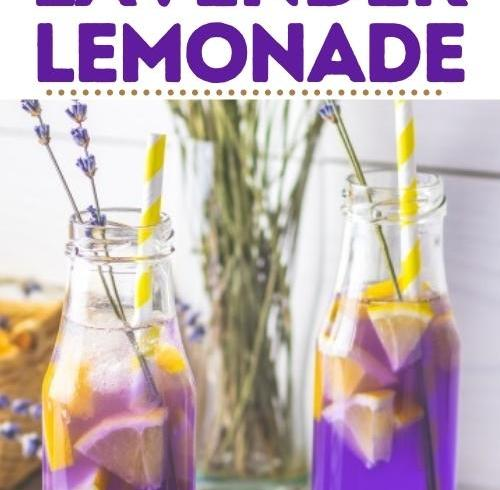 Lavender Lemonade To Help You Get Rid Of Headaches Or Anxiety
