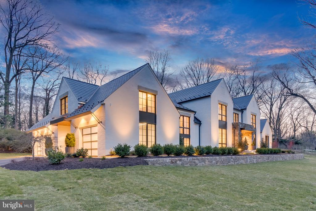 """Nothing like it, Custom One of a kind new home.  Beautifully sited on 2+ gorgeous acres by Buchanan & Price; this extraordinary offering boasts 10k+ sqft of a truly unique and tasteful blend of """"soft contemporary""""/""""transitional"""" styles. Dramatic walls of glass and soaring ceiling heights are punctuated throughout w/ exquisite stone and exotic wood finishes. Gourmet kitchen w/ top of the line appliances, wine cellar, Elevator, & Home Theater Room.~"""