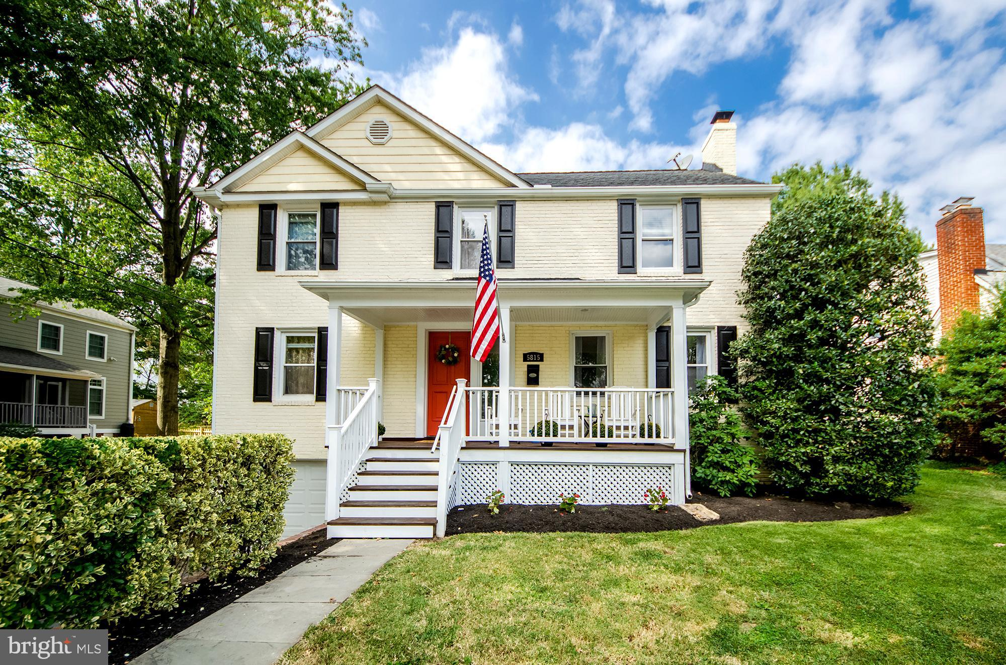 This one checks all the boxes! *Brimming with charm *Welcoming ice tea sipping front porch *2 level addition *Popular open configuration floor plan *Charming period details seamlessly blended with today's modern amenities *Living room with fireplace *Hardwood flooring *Main level 5th bedroom *Handy mudroom *Gourmet island kitchen with adjoining breakfast room, pantry and family room *4 upper level bedrooms *Vaulted owner's retreat with spa bath and walk-in closet *4 full baths * Finished lower level *Garage *Extensive patio space *Amazing locale backing to Parkhurst park and  so close to the wonderful Westover village, parks, library and less than a mile to EFC Metro! Sellers request any offers be submitted by 12 noon on Tuesday 9/24/19