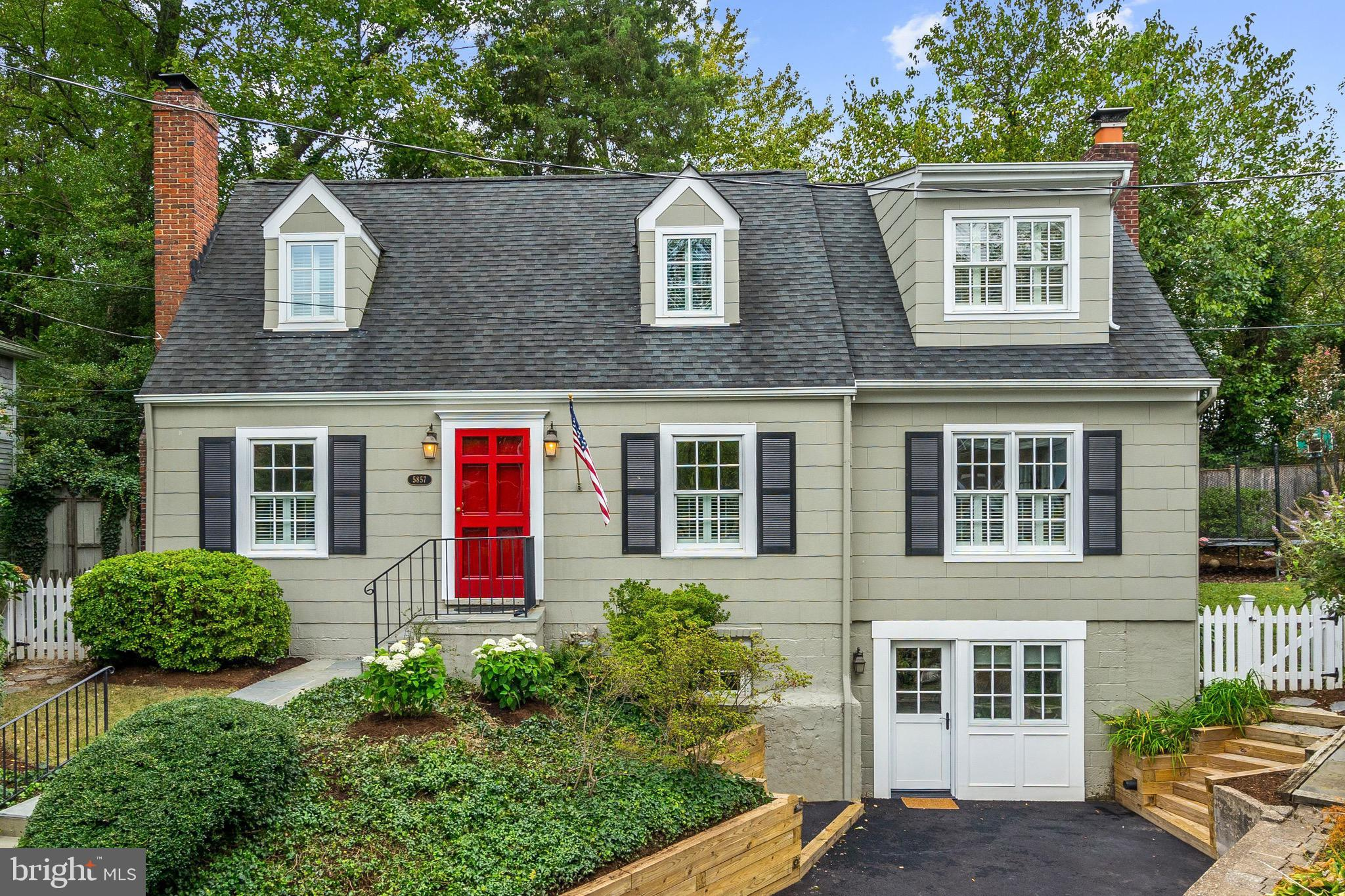 Offers Due 4pm Monday September 30. Beautifully renovated and expanded 5 bedroom, 4 bath home on a quiet cul-de-sac in Westover, backing to Parkhurst Park. This surprisingly spacious Cape Cod comes loaded with charm and features a handsome formal dining room with wood burning fireplace and a cozy sitting room with great storage. Enjoy a custom kitchen complete with granite counters, recessed lights and stainless steel appliances. An adjoining breakfast room steps out to a rear deck and fully fenced back yard with access to the park. The kitchen opens to a well-proportioned family room with a woodburning fireplace and built-in bookshelves. Step right out the French doors to a lovely screened porch. A main level office/bedroom with built-in bookshelves and an attached bath provides a private retreat for guests. Upstairs find a master suite with vaulted ceilings, a walk-in closet and luxurious bath with shower and soaking tub. Down the hall two more bedrooms share an updated hall bath and a conveniently located laundry room. A lower level rec room with plenty of storage is followed by a fifth bedroom with private entrance and updated hall bath. Walk out the rear gate to enjoy Parkhurst Park and a quick walk to Westover and the new (to-be-built) elementary school.Moments to I-66, East Falls Church Metro and loads of shops and restaurants!