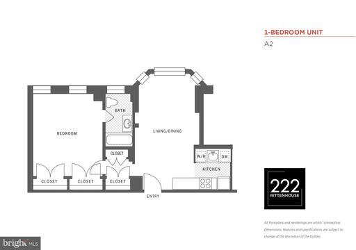 Property for sale at 222 W Rittenhouse Sq #1602, Philadelphia,  Pennsylvania 19103