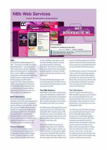 NBb Web Services Brochure