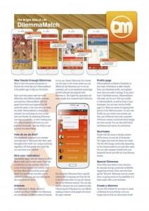 DilemmaMatch App Brochure