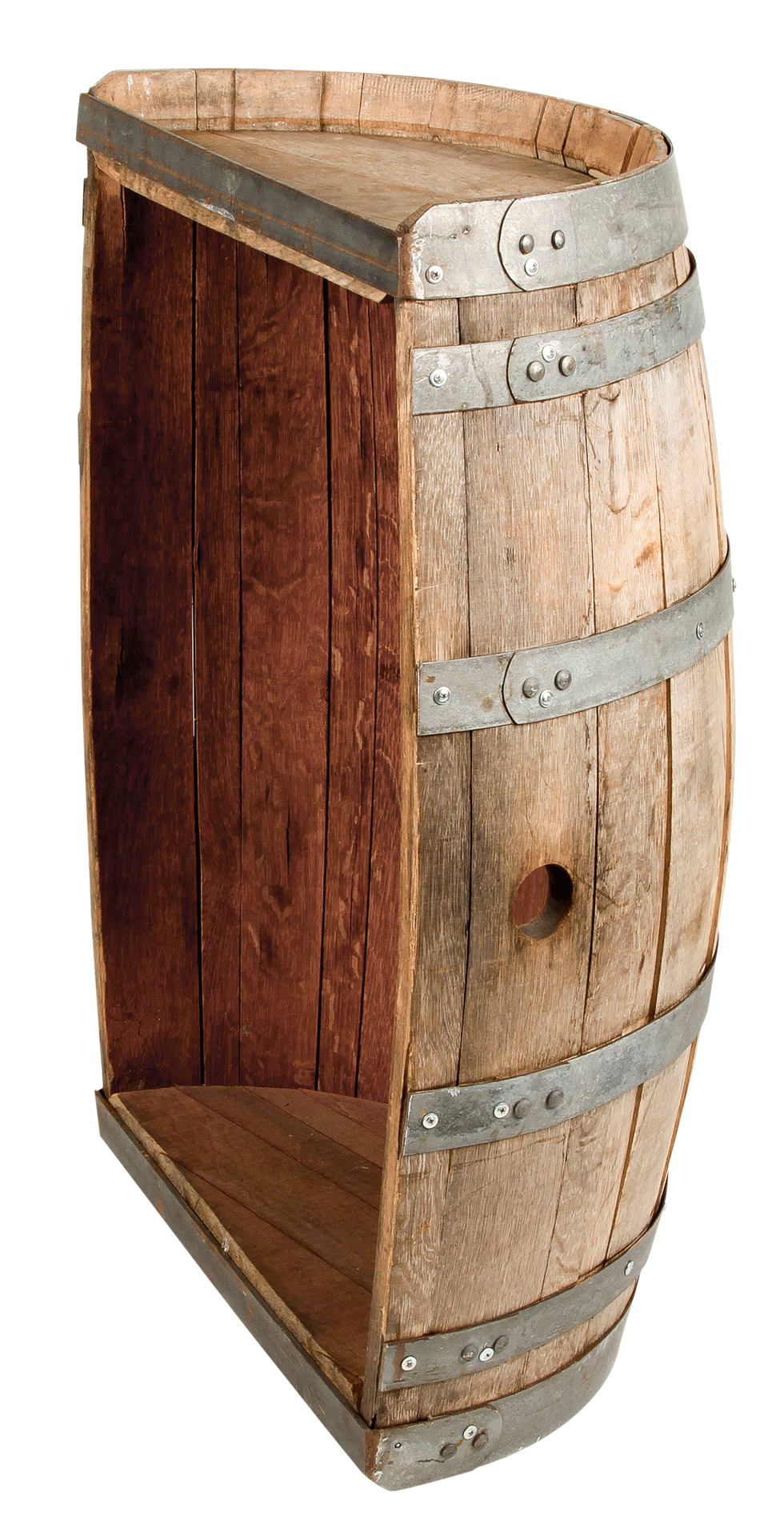 Wine Barrel Half Table 12 Quot X 35 36 Quot H Rentals Bright