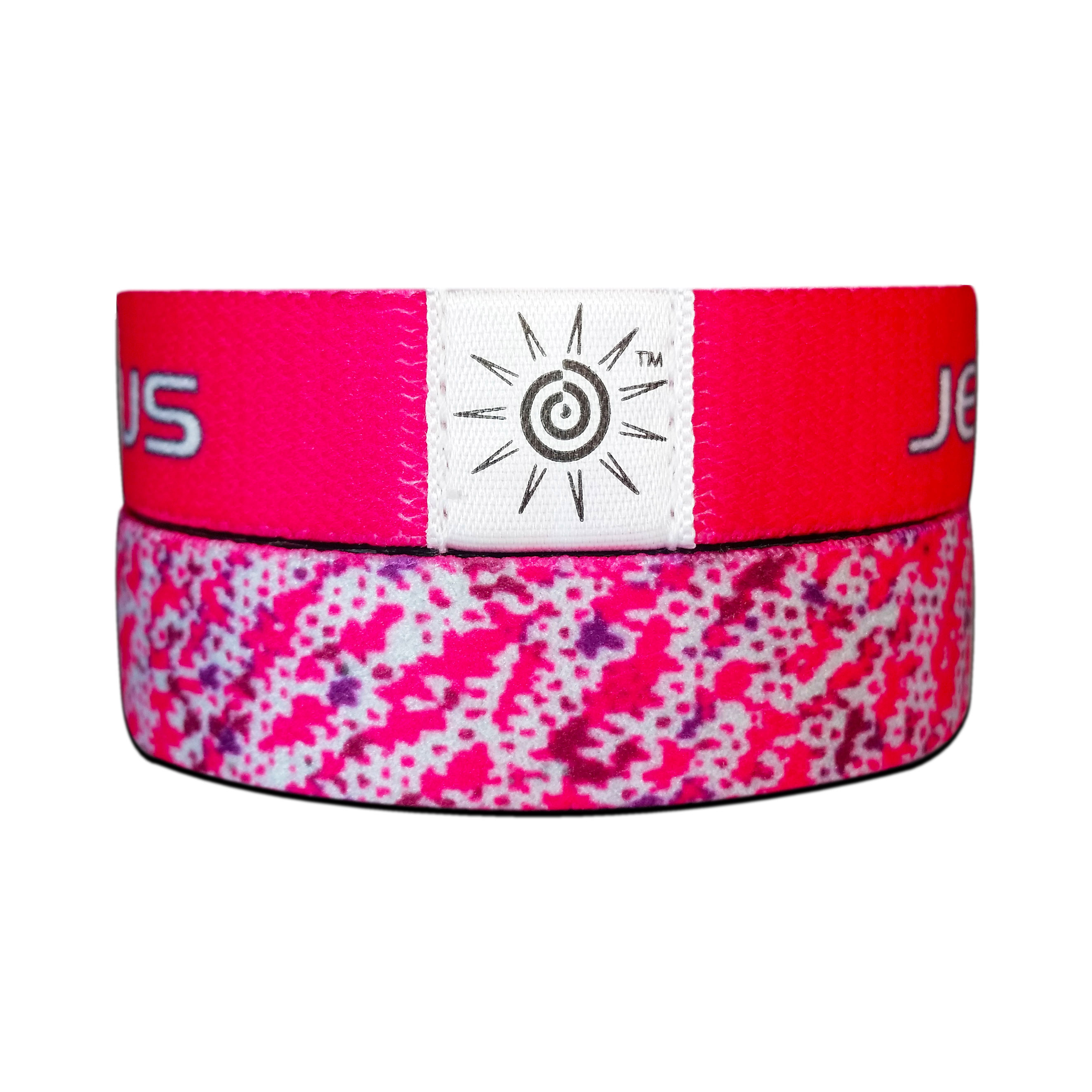 JESUS PINK bracelets - Beautiful Colors that everyone love