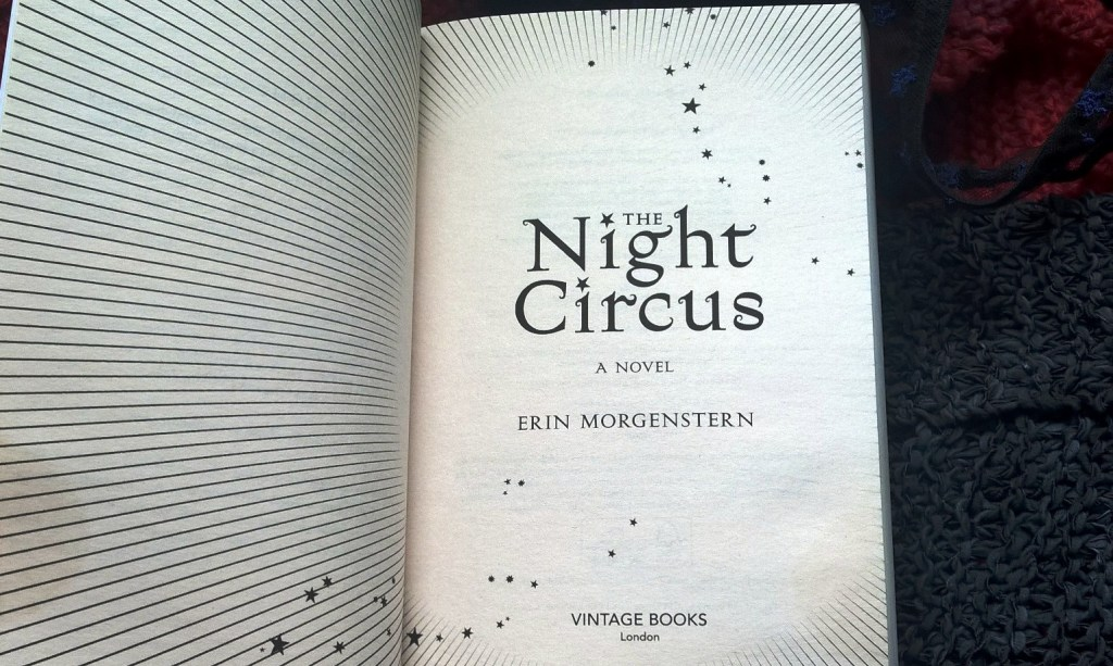 The Night Circus-title page
