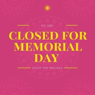 closed for memorial daybright beginnings preschool