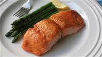 Miso Maple-Glazed Salmon