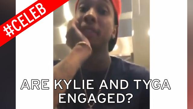 Is Tyga hinting that he's engaged to Kylie Jenner?