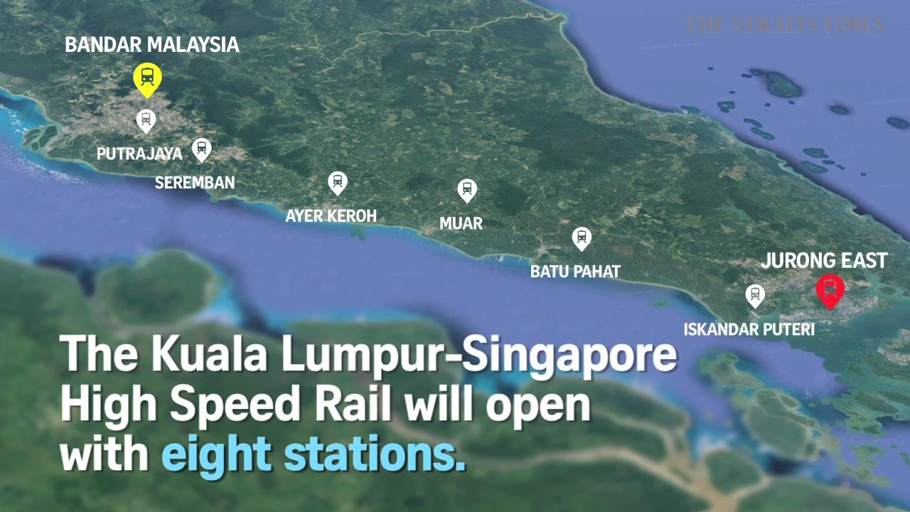 Image result for najib high speed rail link