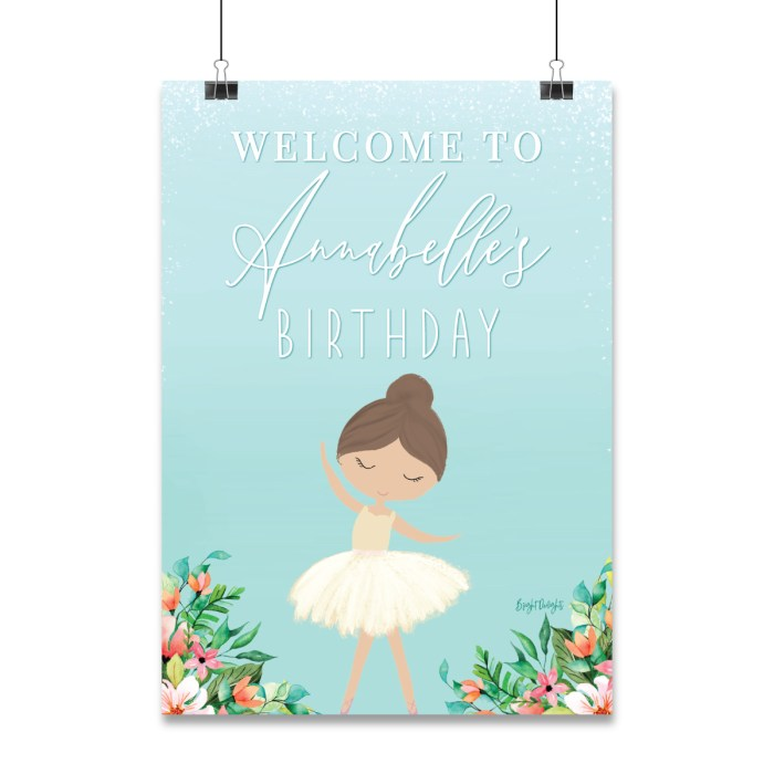 Welcome Event Sign