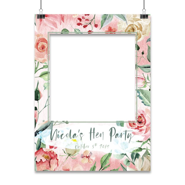 Event Frame Delight template shown as an example of event props