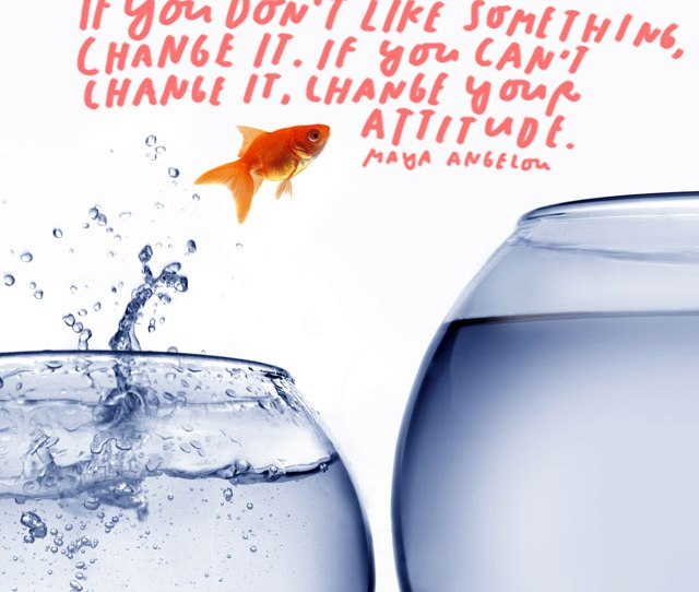 If You Dont Like Something Change It If You Can