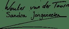 Wouter van der Toorn Sandra Jongeneelen