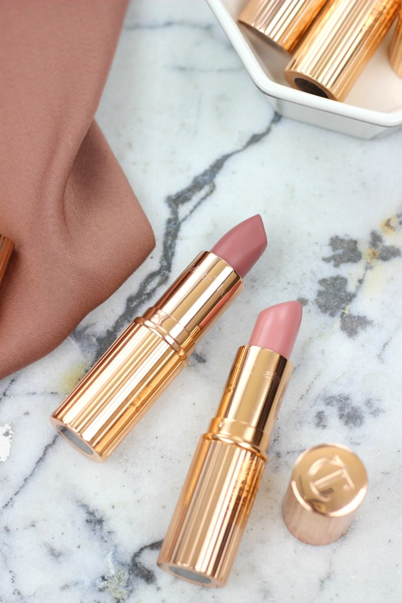 Charlotte Tilbury Pillow Talk And Valentine Lipstick Review